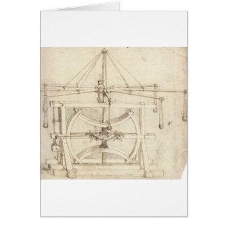 Invención de Leonardo Tarjeta De Felicitación