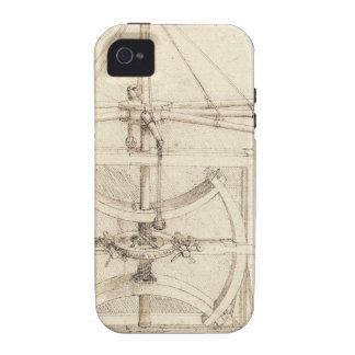 Invención de Leonardo Vibe iPhone 4 Carcasa
