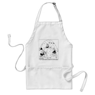 Invent Paper Already Adult Apron