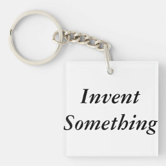 Invent Something Makers Keychain Key Chain