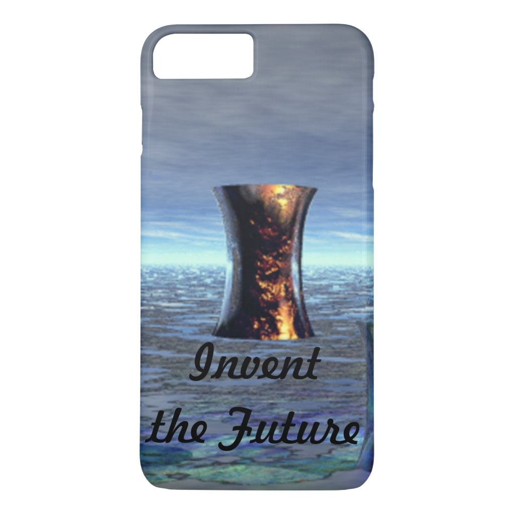 Invent the Future iPhone Cellphone Case Scifi