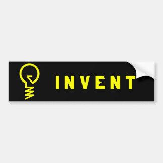 """""""Invente"""" a la pegatina para el parachoques de la  Pegatina Para Auto"""