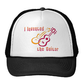 Inventé la guitarra gorro de camionero