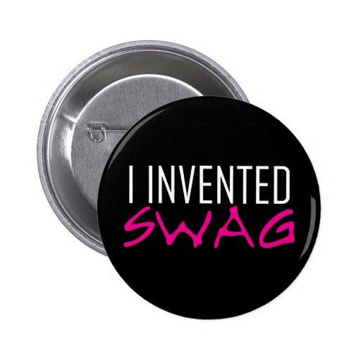 Inventé rosa del Swag Pin