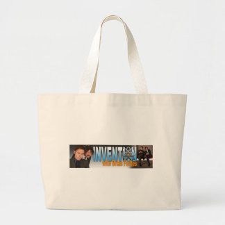 Invention with Brian Forbes Logo Jumbo Tote Bag