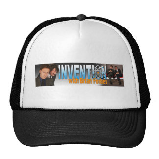 Invention with Brian Forbes Logo Trucker Hat