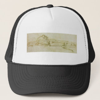 Inventions and constructions. trucker hat