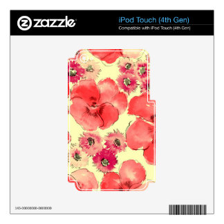 Inventive Stunning Patient Diplomatic Decals For iPod Touch 4G