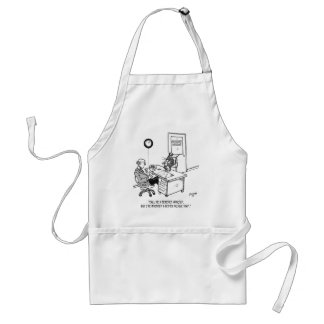 Inventor Cartoon 1932 Adult Apron
