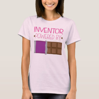 Inventor Chocolate Gift for Her T-Shirt