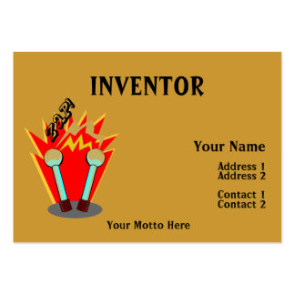 Inventor Large Business Cards (Pack Of 100)