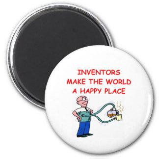 INVENTOR 2 INCH ROUND MAGNET