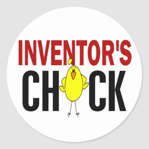 INVENTOR'S CHICK STICKERS