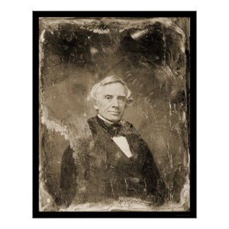 Inventor Samuel Morse Daguerreotype 1854 Print