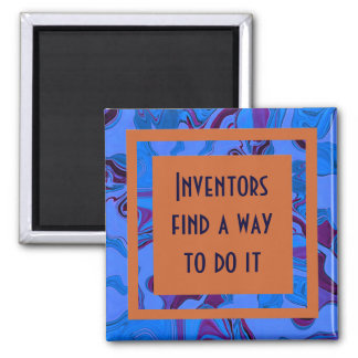 Inventors find a way to do it 2 inch square magnet