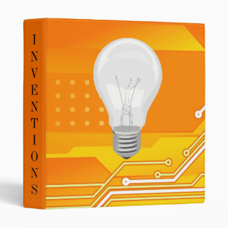 Inventor's Invention Portfolio Vinyl Binder