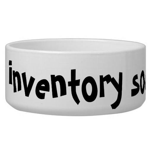 "Inventory Source ""i dig..."" Dog Dish Pet Bowls"