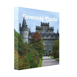 Inveraray Castle Gallery Wrap Canvas