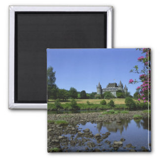 Inverary Castle, Strathclyde, Scotland 2 Inch Square Magnet