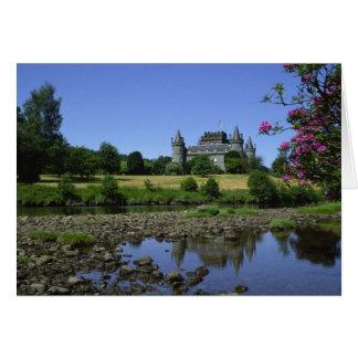 Inverary Castle, Strathclyde, Scotland Card