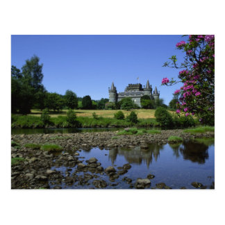 Inverary Castle, Strathclyde, Scotland Postcard