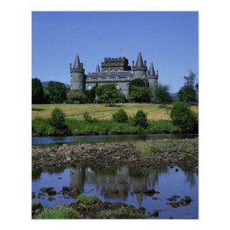 Inverary Castle, Strathclyde, Scotland Poster