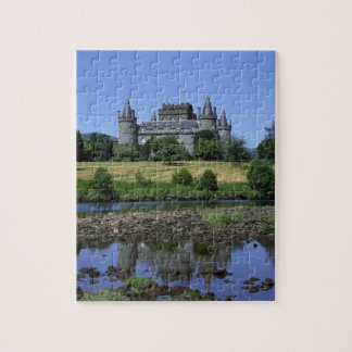 Inverary Castle, Strathclyde, Scotland Jigsaw Puzzles