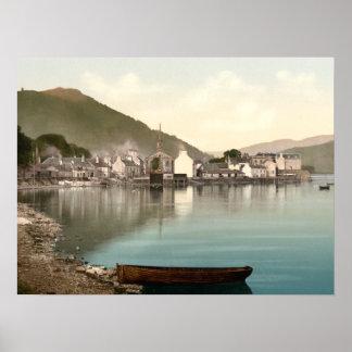 Inverary I Argyll e impresión archival de Escocia  Poster