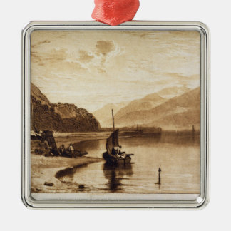 Inverary Pier, 1859-61 (engraving) Metal Ornament