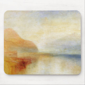 Inverary Pier, Loch Fyne, Morning, c.1840-50 (oil Mouse Pad