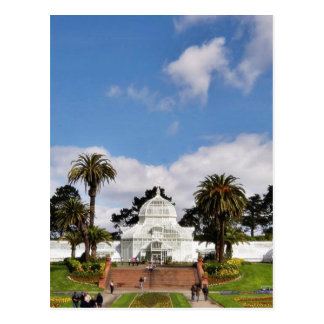 Invernadero de flores en San Franciscos G de oro Tarjetas Postales