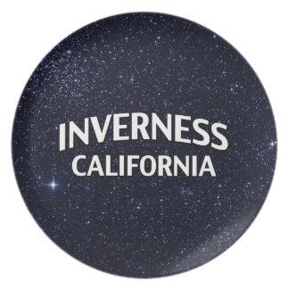 Inverness California Plato De Cena