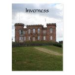 inverness castle park postcard