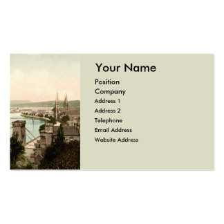 Inverness from the Castle, Scotland Double-Sided Standard Business Cards (Pack Of 100)