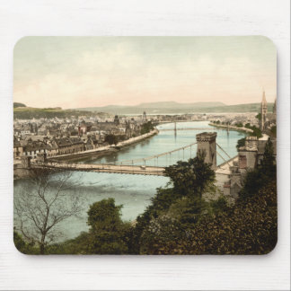 Inverness from the Castle, Scotland Mouse Pad