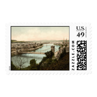 Inverness from the Castle Scotland Stamps