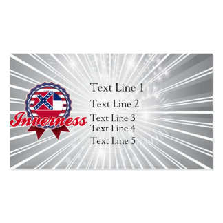 Inverness, MS Business Card Templates