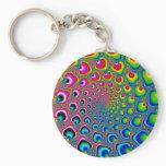 Inverse Spiral Keychain