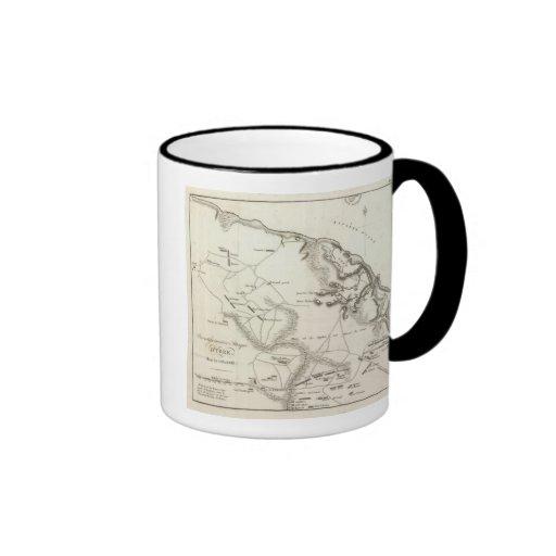 Inversión y ataque de York en Virginia Tazas De Café