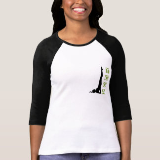 Inversion Yoga Pose Light T-Shirt Tees