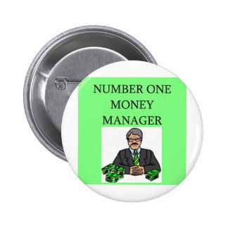 inversor del mercado de acción de Wall Street Pins