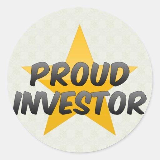 Inversor orgulloso etiquetas