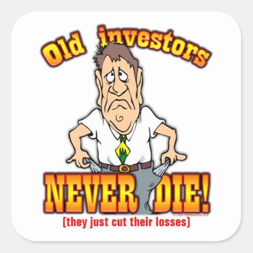 Inversores Calcomanía Cuadrada