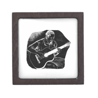 invert acoustic guitar pencil player sketch gift box