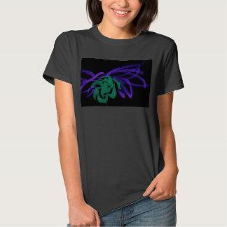 invert flower shirt