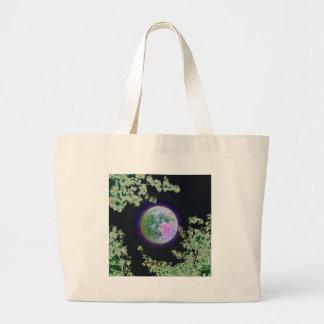 Invert Moon Large Tote Bag