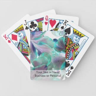 invert teal blue succulent flapjack plant bicycle playing cards