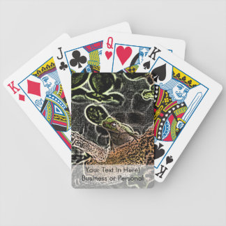 invert tree frog in tree painting cute animal bicycle playing cards