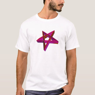 Inverted 3-D Pentagram T-Shirt