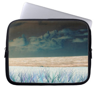 inverted beach sky neat abstract florida shore computer sleeves